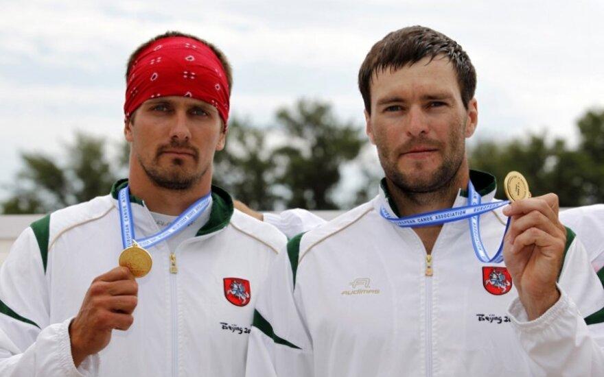 Raimundas Labuckas ir Tomas Gadeikis iškovojo aukso medalius