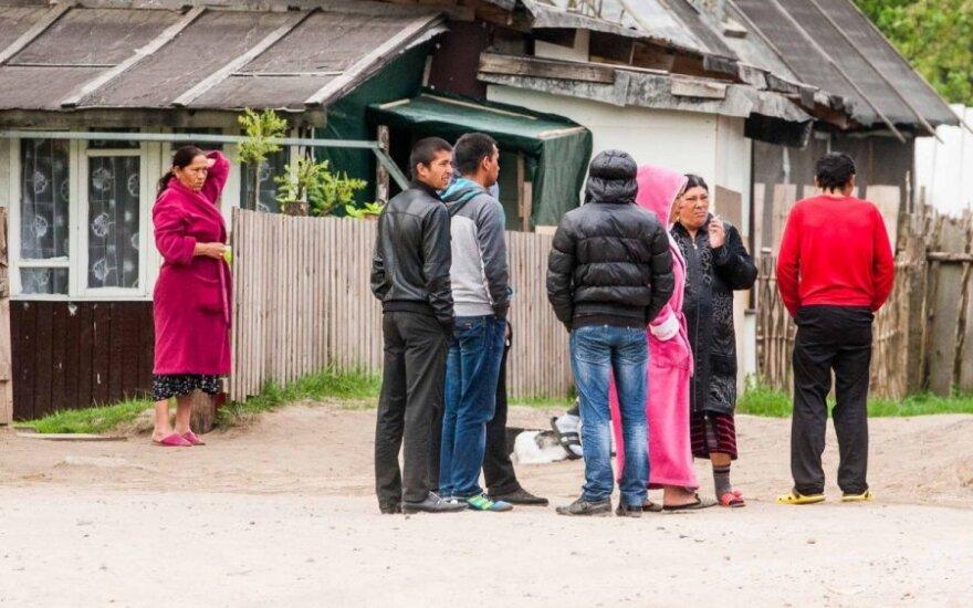 Romų realybė: pusė Kirtimų vaikų be pradinio išsilavinimo