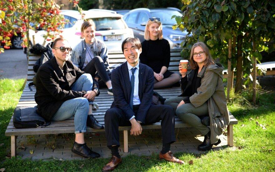 Lietuvos pirmakursių Vilniuje laukia dėstytojai iš Oksfordo