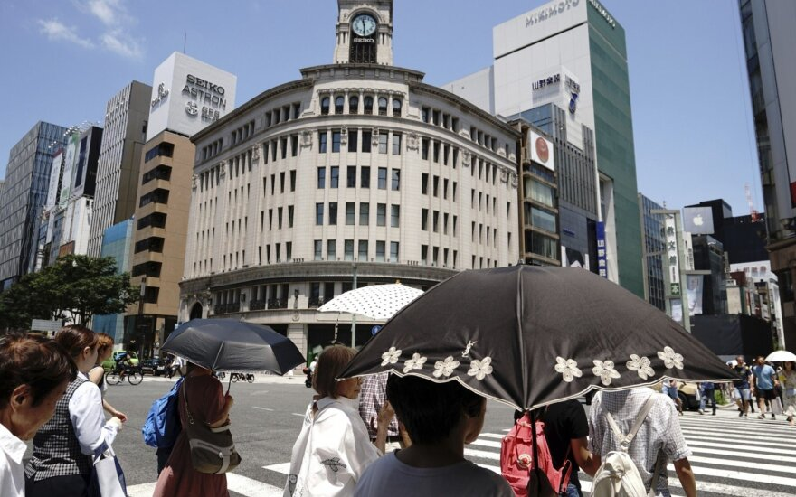 Pietų Japoniją supurtęs 6,1 balo žemės drebėjimas žalos veikiausiai nepadarė
