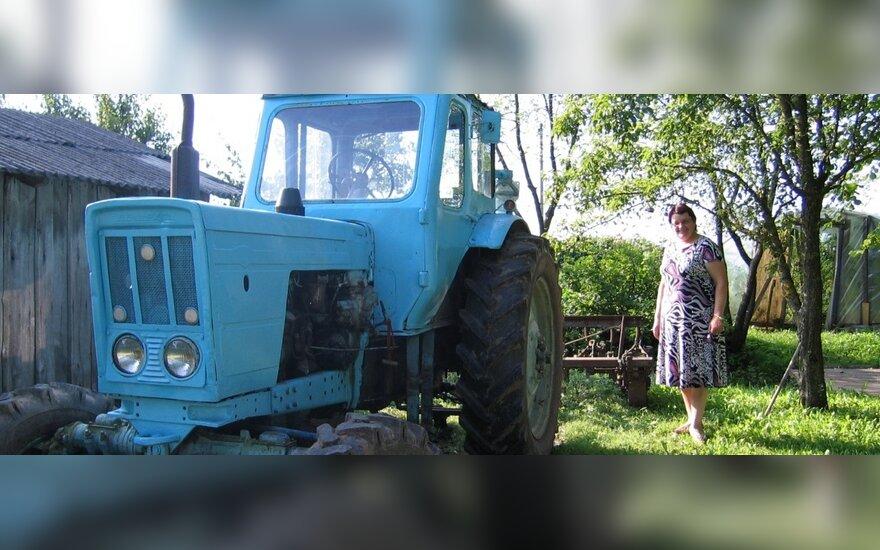 Telšių rajone policijai teko vaikytis girtutėlį traktorininką