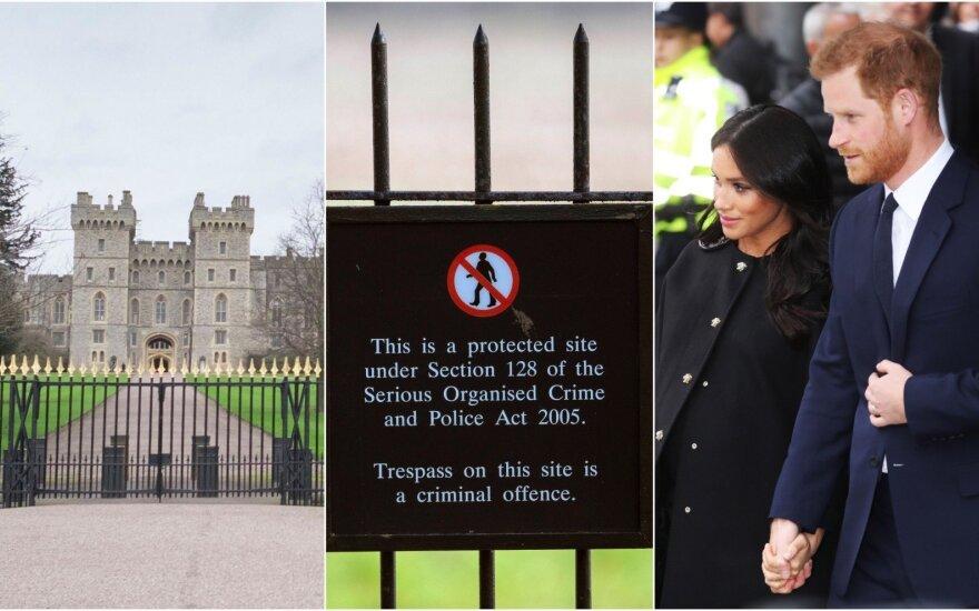 Meghan Markle ir princo Harry rezidencija Frogmore