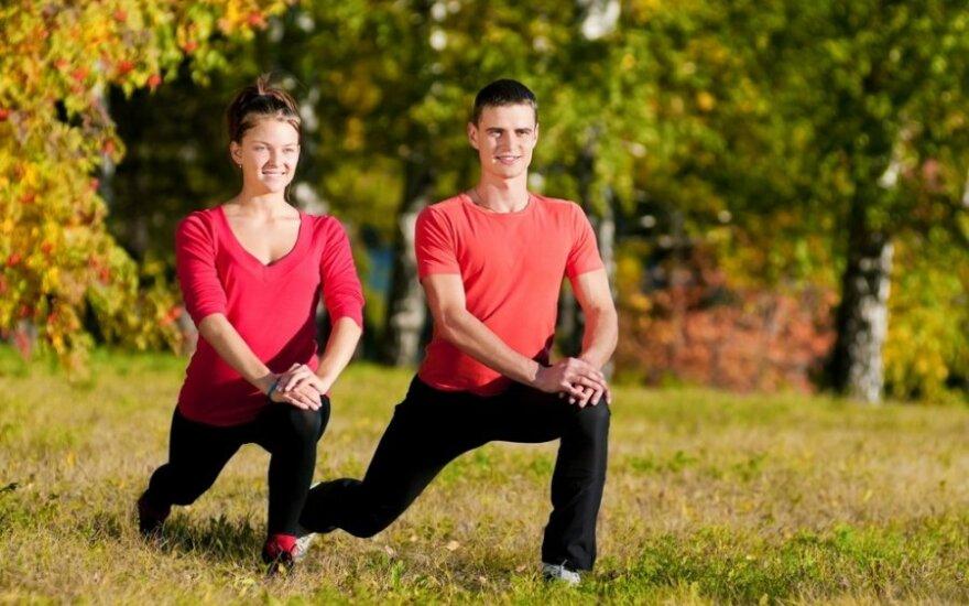 Sportas padės įveikti stresą