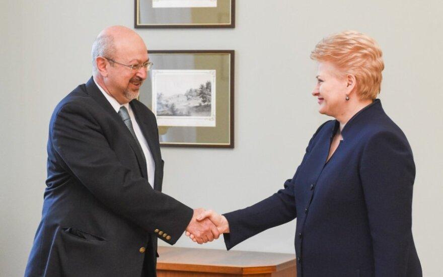 Lamberto Zannier and Dalia Grybauskaitė
