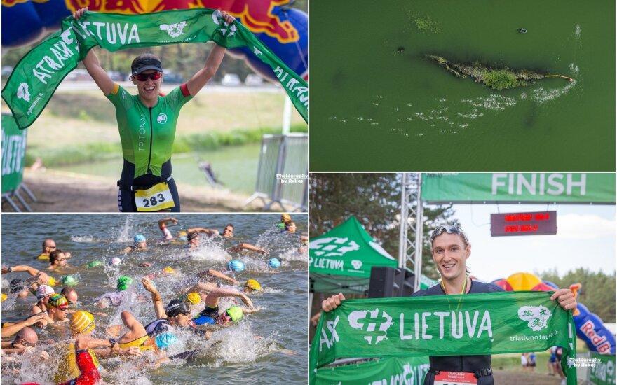 Lietuvos triatlono taurė, IIII etapas Varėnoje (Roko Lukoševičiaus nuotr.)