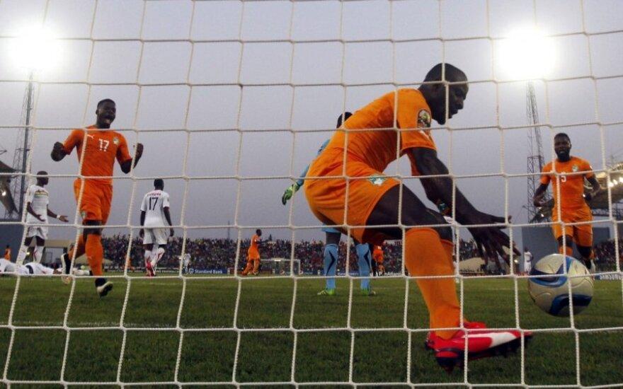 Seydou Doumbia pelnė įvartį