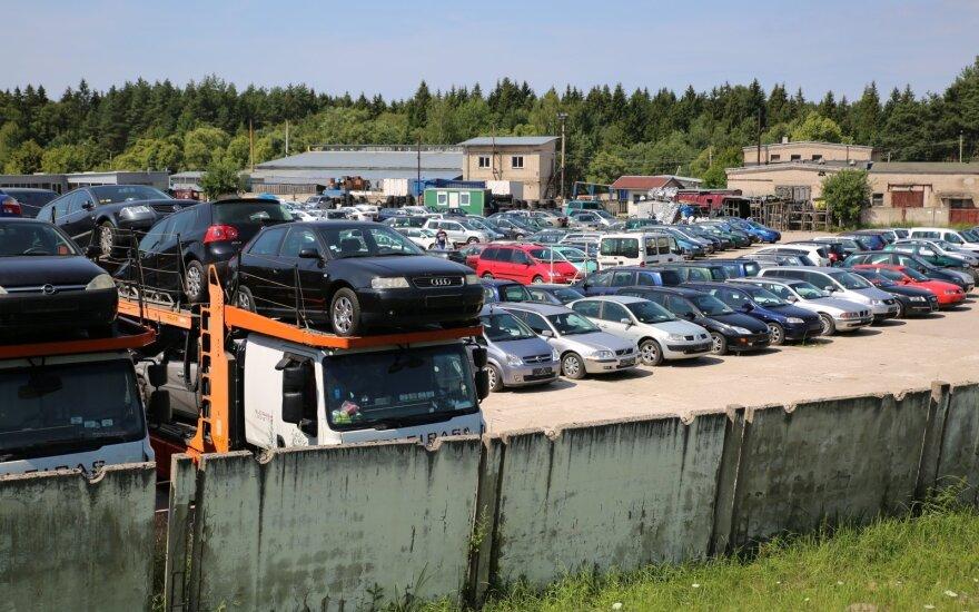 Utenos naudotų automobilių pardavimo aikštelės