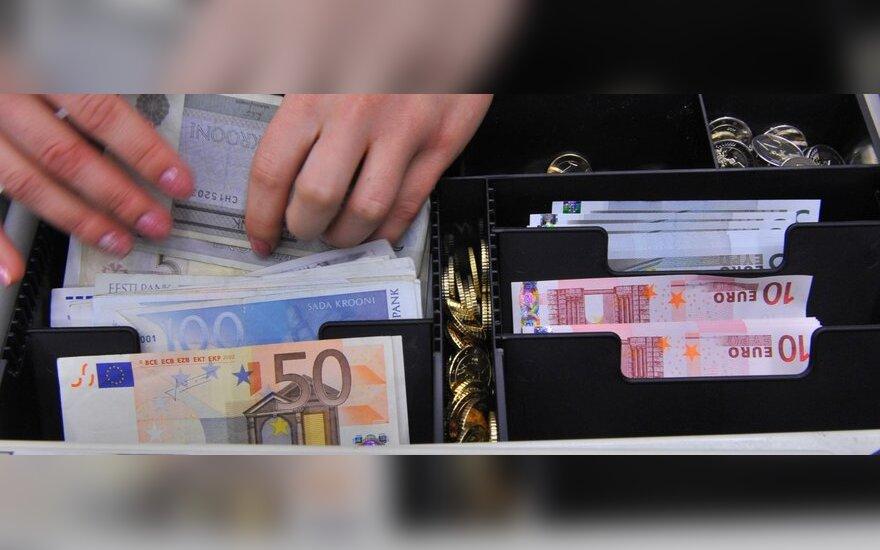Suskaičiavo, kiek latvių nori euro