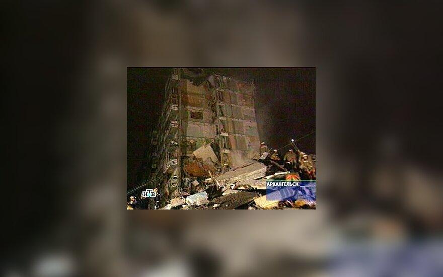 Sugriuvęs namas Archangelske