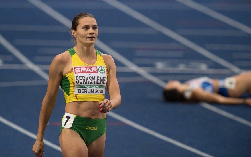 Europos lengvosios atletikos čempionato finalas: Agnė Šerkšnienė