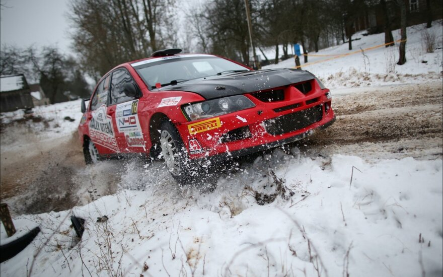 """Paskelbti """"Halls Winter Rally"""" greičio ruožai"""
