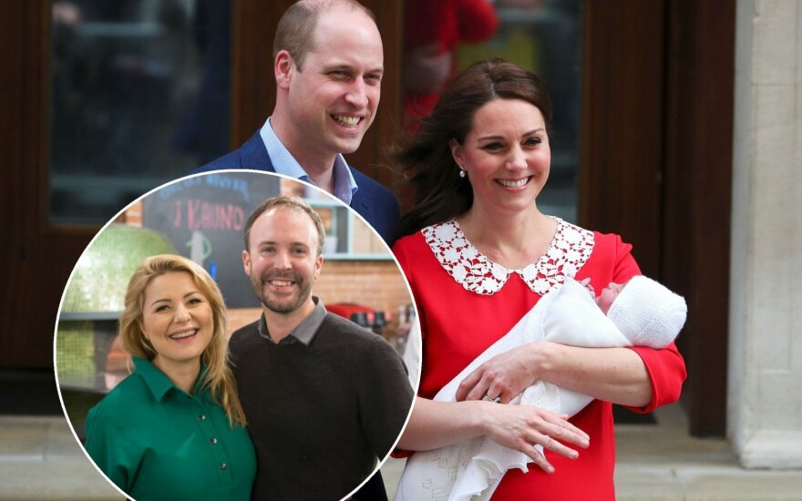 Beata Nicholson ir Kate Middleton bei jų vyrai