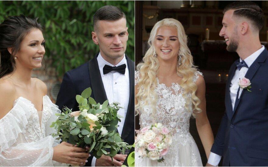 Krepšininkų porų vestuvės
