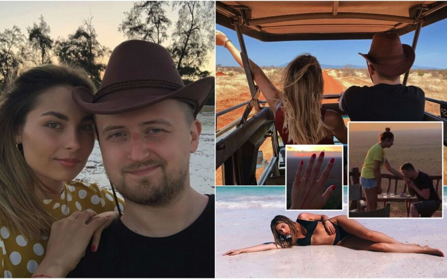Manto Katlerio ir Aistės Kabašinskaitės atostogų akimirkos