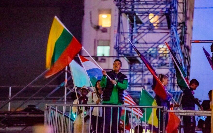 Jaunimo olimpinių žaidynių atidarymas Buenos Airėse