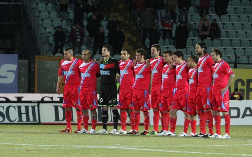 """""""Catania"""" futbolininkai"""