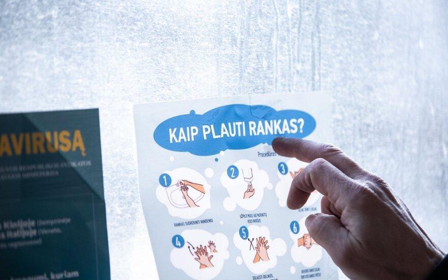 Lietuvos verslas praneša esąs pasiruošęs gaminti dezinfekcinį skystį