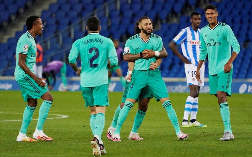 """VAR sprendimai padėjo """"Real"""" klubui aplenkti """"Barceloną"""""""