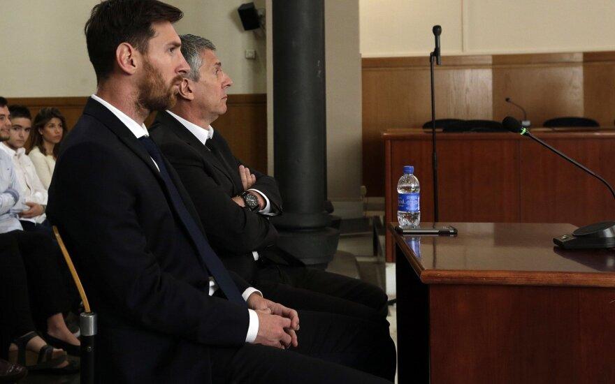 Lionelis Messi ir Jorge Horacio Messi teisme