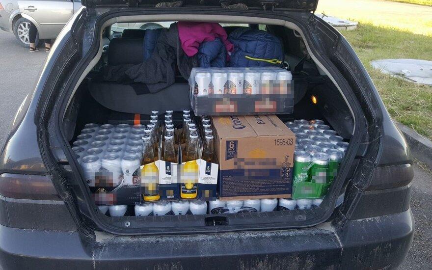 Alkoholio pirkimas Latvijoje