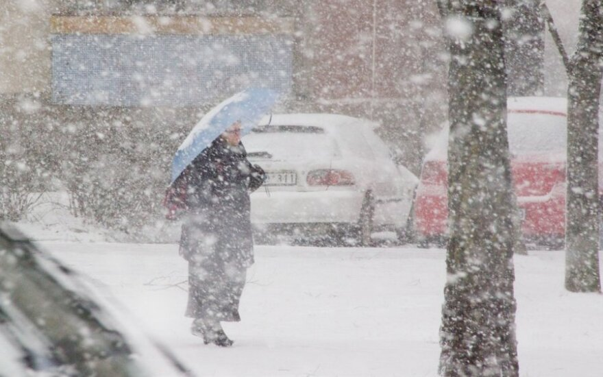 Orai: žiema ateis su trenksmu