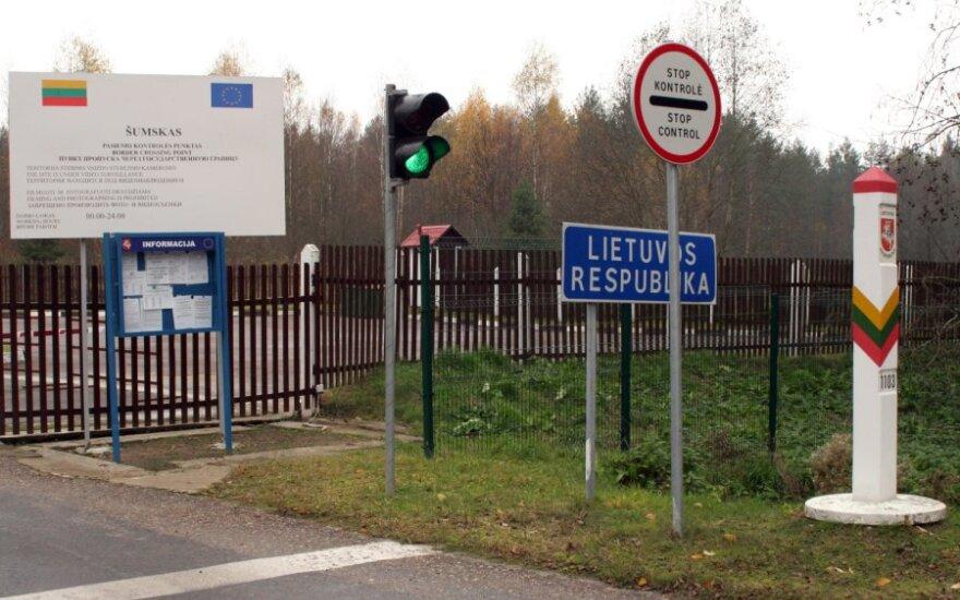 Palengvintos Lietuvos ir Baltarusijos pasienio gyventojų kelionės