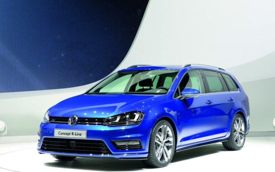 Volkswagen Golf Estate Concept R-Line