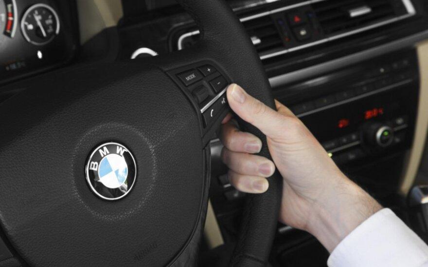 Vairuotojas, vairuoti, vairas, BMW