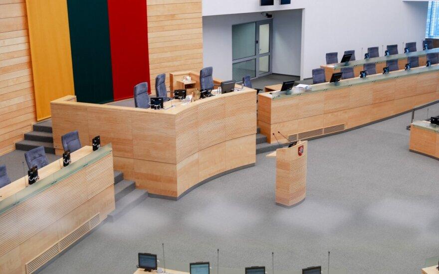 Besibaigianti Raudonienės kadencija įpareigoja Seimą priimti sprendimą