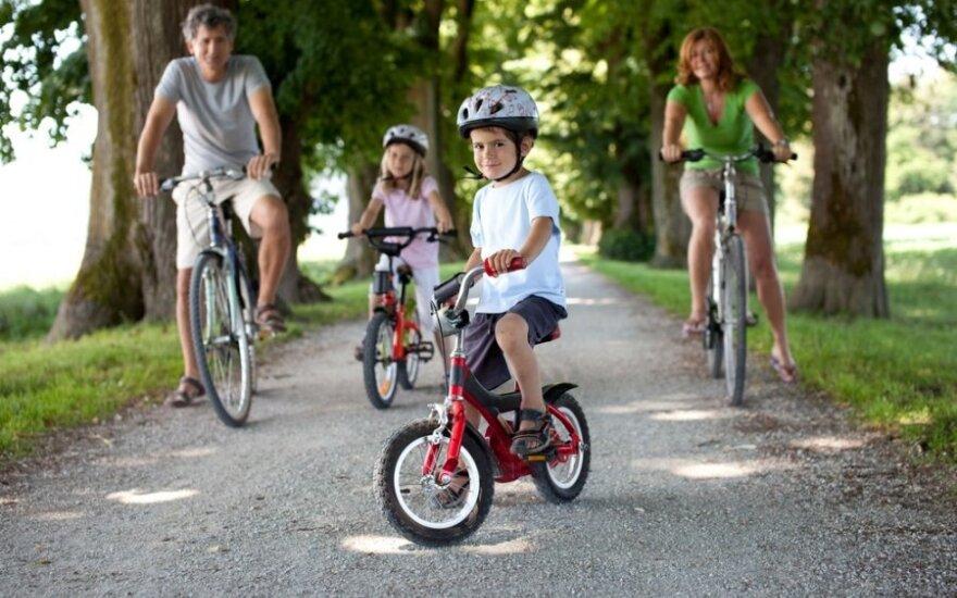 Tėvų klaidos: ar jūsų mažasis dviratukininkas saugus?