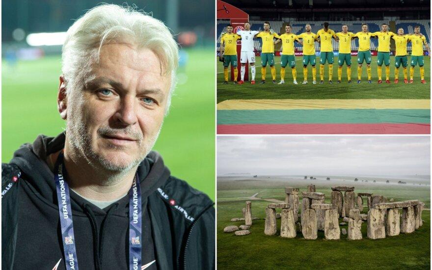 Nerijus Kesminas sukritikavo Lietuvos futbolo rinktinę