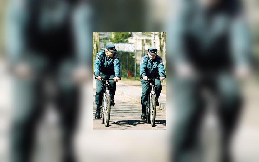 Policininkai dviračiai