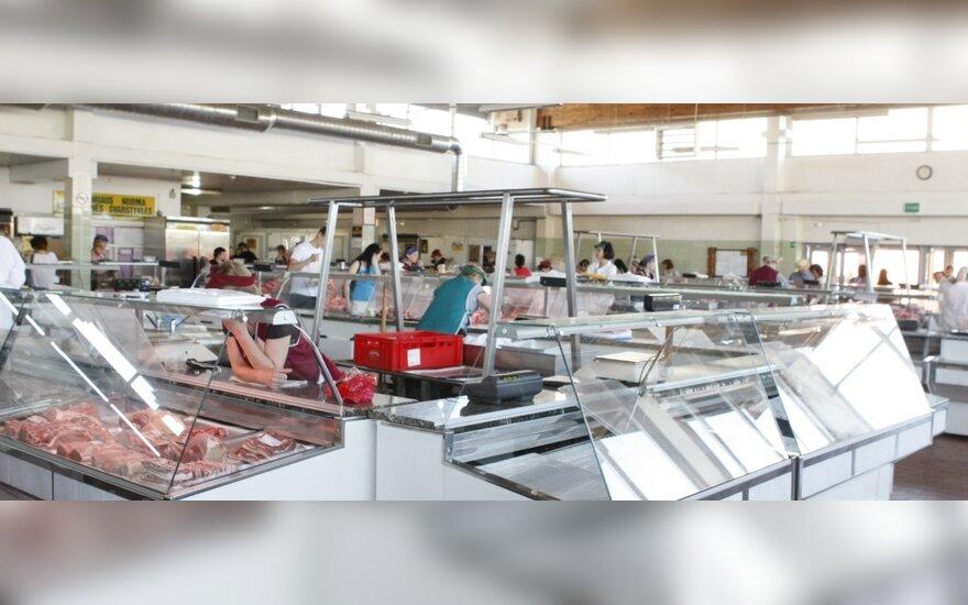 Dalis streikavusių prekeivių grįžo į Klaipėdos turgus