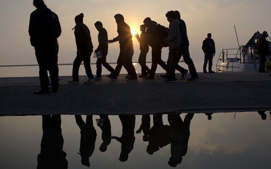 Lamanšo sąsiauryje iš skęstančio laivo išgelbėti šeši migrantai iraniečiai