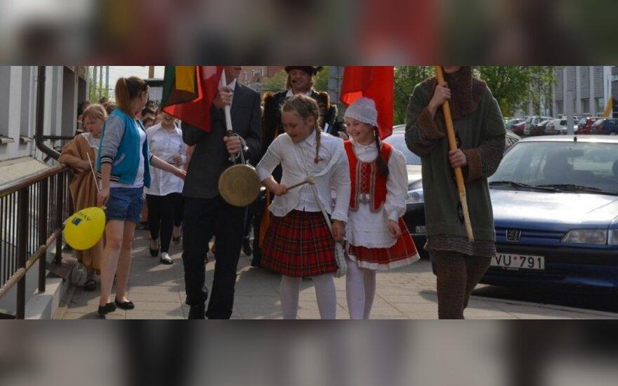 Vilniaus vaikai festivalyje demonstravo savo talentus