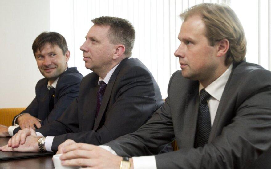 Darius Raulušaitis, Darius Valys, Andrius Nevera