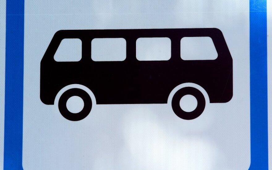 Vilniuje garbaus amžiaus moterį partrenkusį autobusą teko vytis pareigūnams