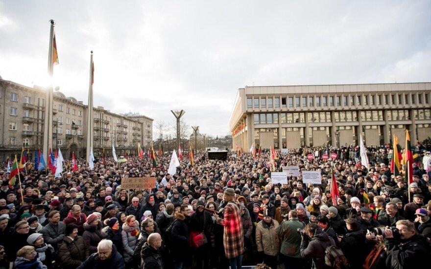 2018-ieji: protestų metai Lietuvoje