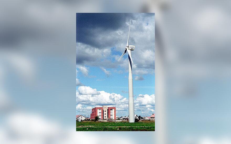 Vėjo jėgainė, elektrinė
