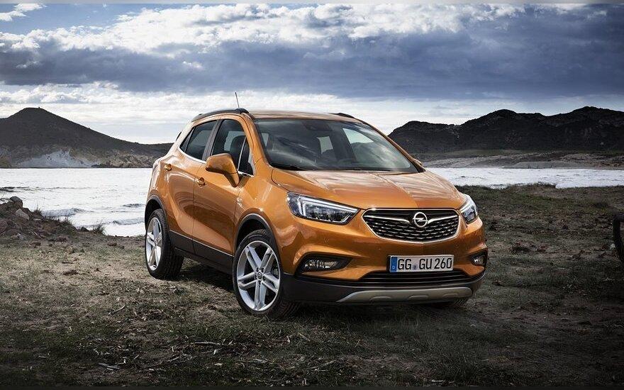 "Atnaujinta ""Opel Mokka"""