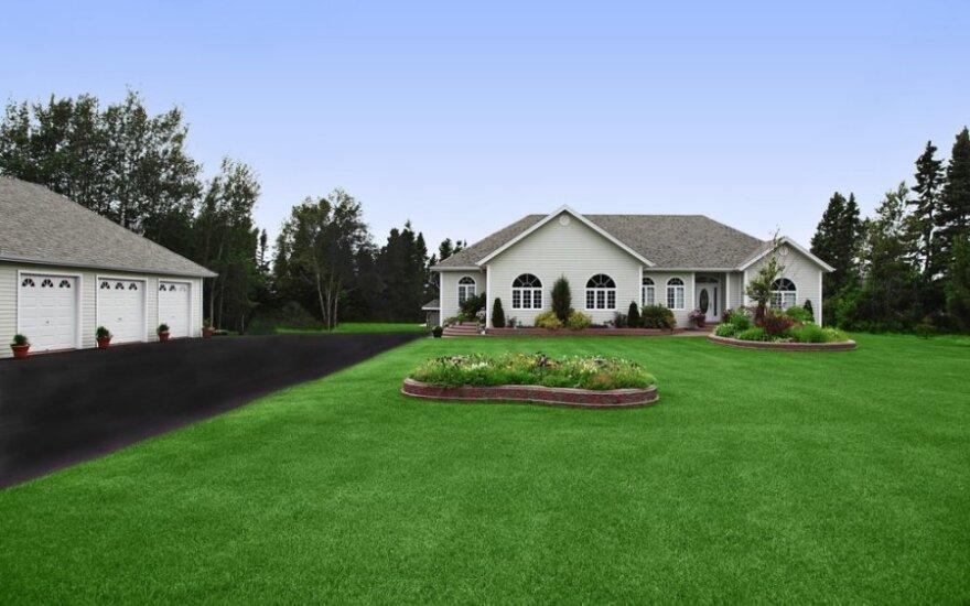 Šalia namų – pačių susikurta amerikietiška svajonė