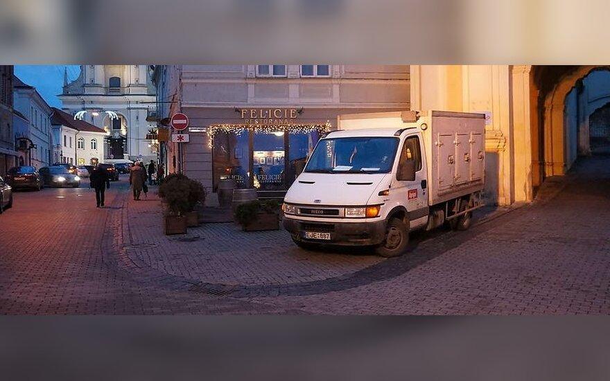 Vilniuje, Aušros vartų g. 2012-01-04