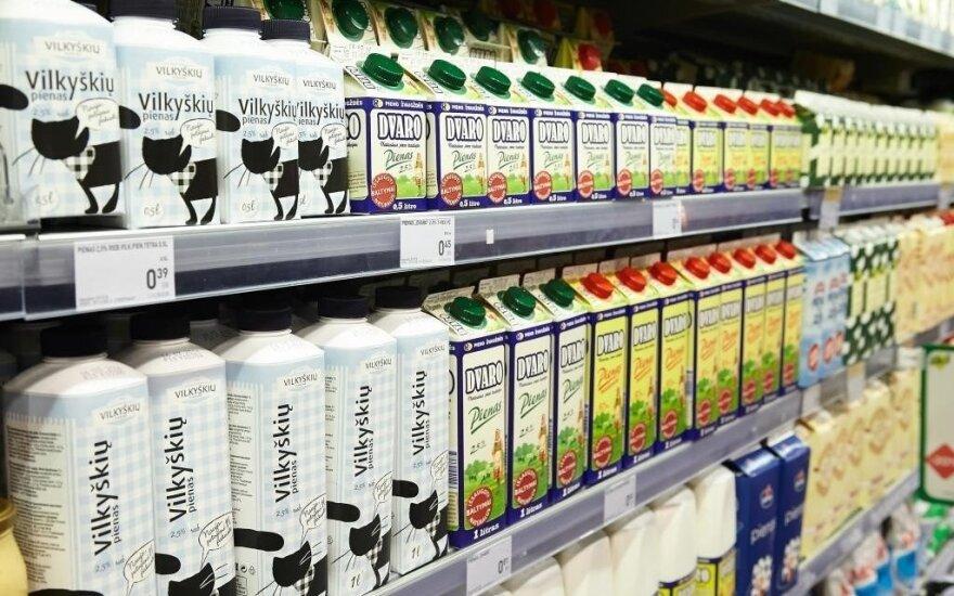 Lapkritį sumažėjo pieno supirkimo kainos