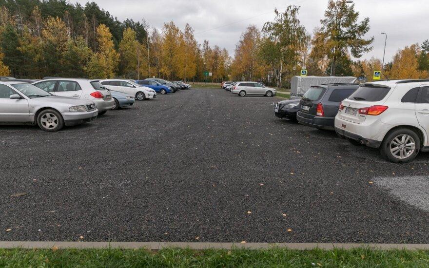 Automobilių stovėjimo vietos Vilniuje
