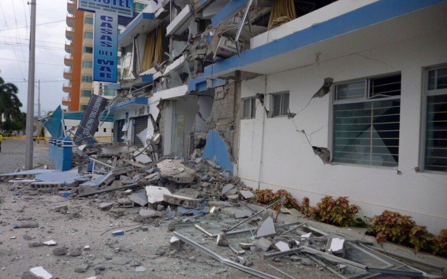 Čilę per Kalėdas supurtęs stiprus žemės drebėjimas išgąsdino žmones, bet aukų nebuvo
