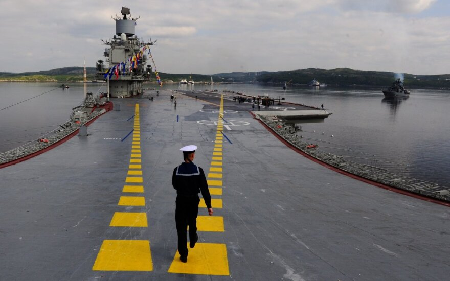 Sukrečiantis Rusijos lėktuvnešyje tarnavusio jūreivio pasakojimas: fantazijų čia nebus