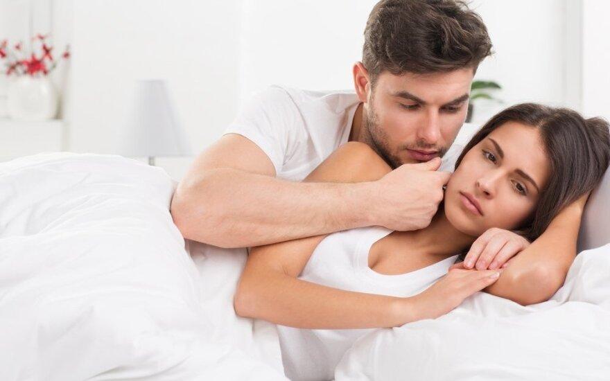 Kodėl aš nejaučiu jokio noro mylėtis su savo vyru?