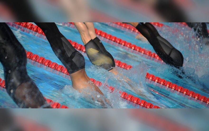 Europos jaunimo plaukimo čempionate S.Bilis užėmė 22-ą, o T.Duškinas – 26-ą vietas