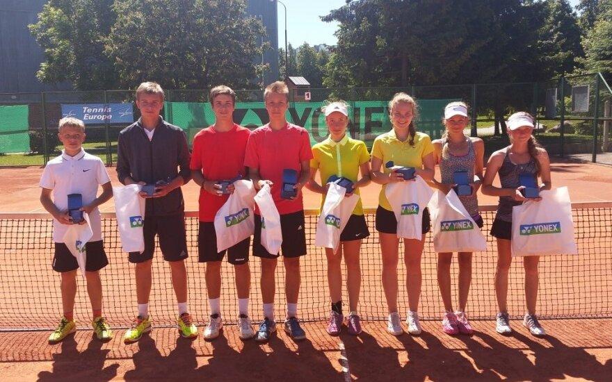 Jauniesiems tenisininkams iki pergalės Šiauliuose pristigo žingsnio