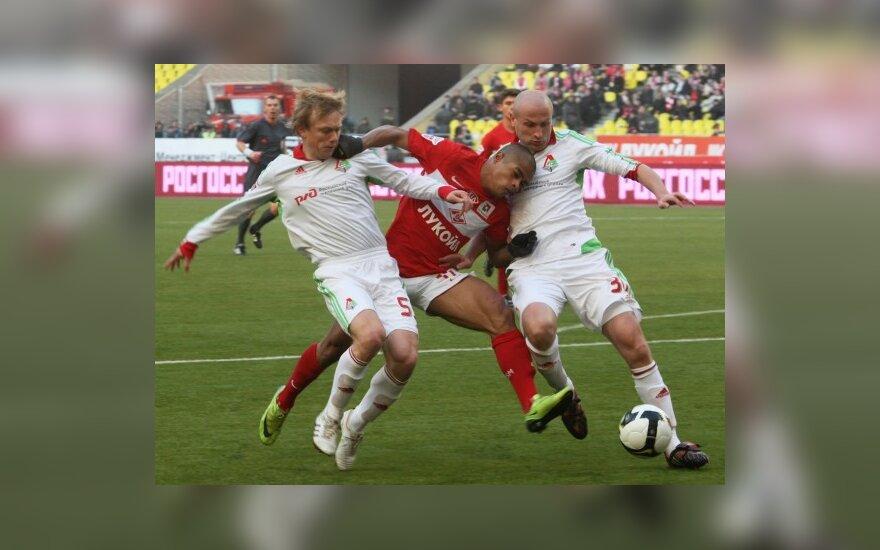"Maskvos ""Lokomotiv"" ir ""Spartak"" klubų derbis"